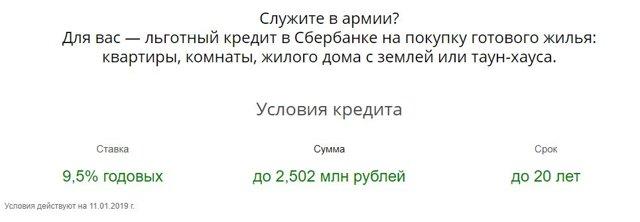 Военная ипотека в Сбербанке в 2020 - условия, для военных пенсионеров