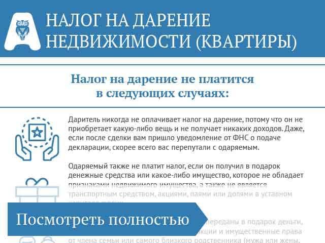Дарение имущества в 2020 - договор, налог