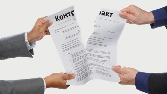 Уведомление о досрочном расторжении договора аренды в 2020 - образец, с истечением срока
