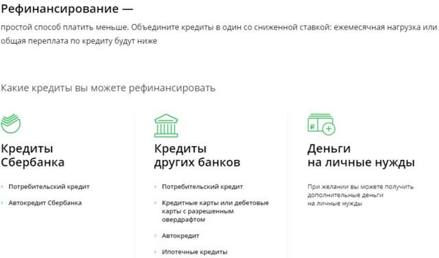 Объединение кредитов в один Сбербанк в 2020 - отзывы